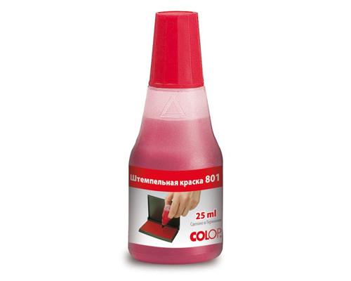 Краска штемпельная Colop на водно-глицериновой основе красная 25 мл - (218946К)