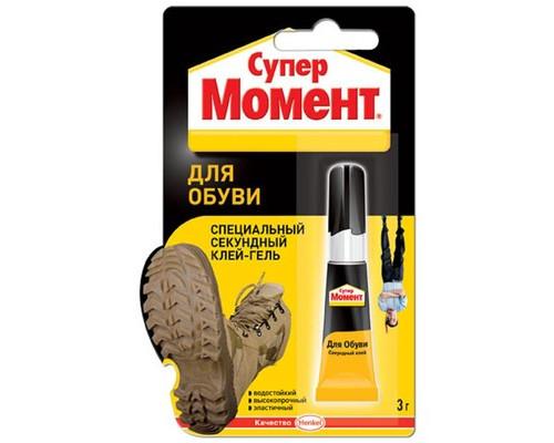 Клей для обуви Момент Секундный 3 г - (480961К)