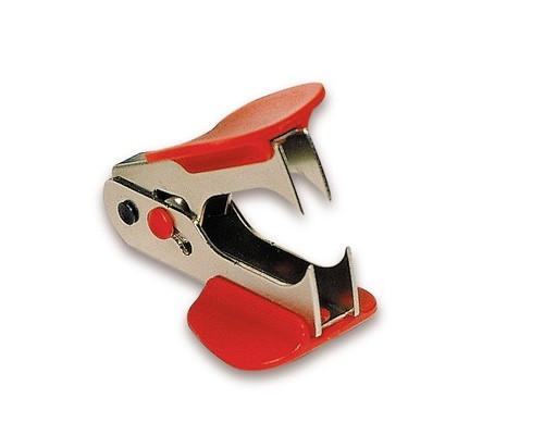 Антистеплер Sax 700 с фиксатором красный для скоб №24/6 26/6 - (50961К)