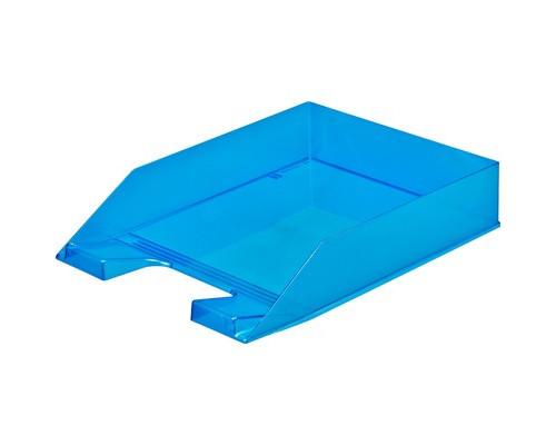 Лоток для бумаг горизонтальный Attache Selection синий - (490033К)
