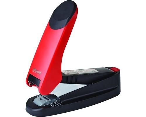 Степлер мощный Attache Selection Stork RB60 до 60 листов черный-красный - (389388К)