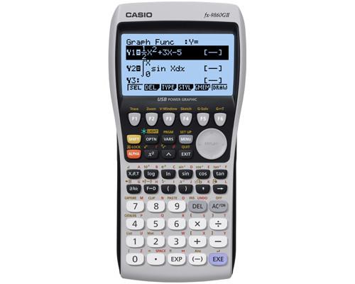 Калькулятор графический Casio FX-9860G II 21-разрядный 1000 функций - (150908К)