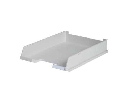 Лоток для бумаг горизонтальный Han серый - (65369К)