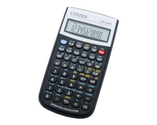 Калькулятор Citizen SR-260N 10+2-разрядный 165 функций - (147734К)