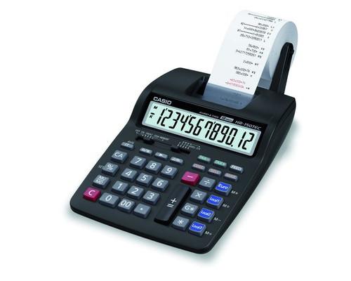 Калькулятор печатающий Casio HR-150TEC 12-разрядный - (96174К)
