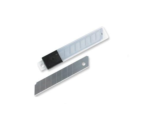 Запасные лезвия для канцелярских ножей Attache 18 мм 10 штук в упаковке - (18170К)