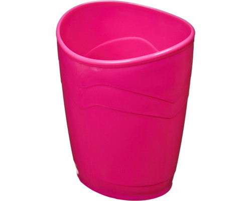 Подставка-стакан для канцелярских мелочей Attache Fantasy розовая - (447106К)