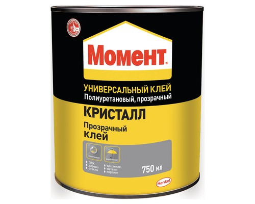 Клей контактный Момент Кристалл 750 мл - (561016К)