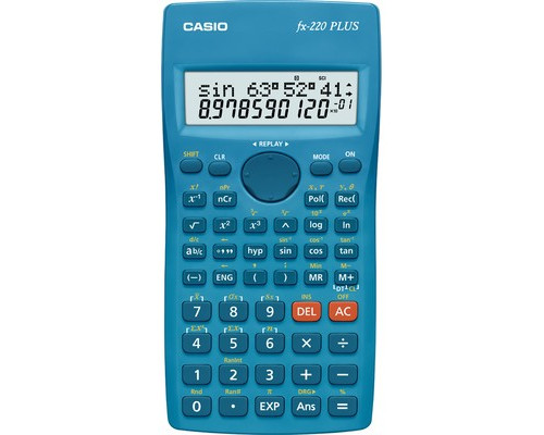 Калькулятор Casio FX-220PLUS-S-EH 10+2-разрядный 181 функция - (212712К)