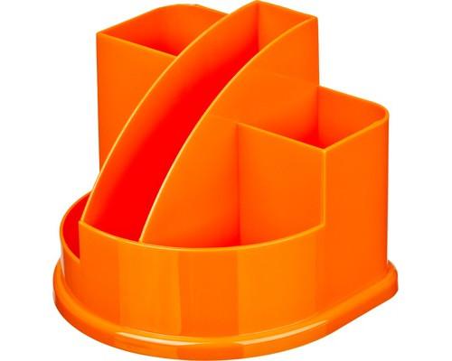 Подставка для канцелярских мелочей Attache Fantasy оранжевая 5 отделений - (490038К)
