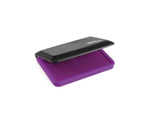 Подушка штемпельная настольная Colop Micro 1 фиолетовая 90х50 мм - (218949К)