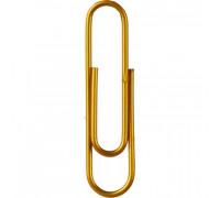 Скрепки Attache металлические золотистые 50 мм 50 штук в упаковке - (636785К)