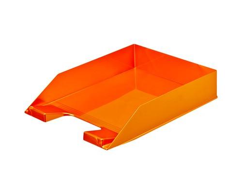 Лоток для бумаг горизонтальный Attache Selection оранжевый - (478308К)