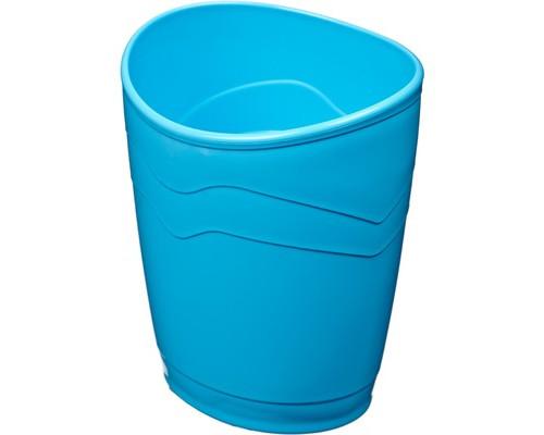 Подставка-стакан для канцелярских мелочей Attache Fantasy голубая - (447108К)