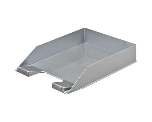 Лоток для бумаг горизонтальный Attache Selection серый - (490034К)