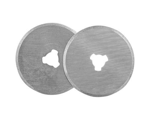 Запасные лезвия для промышленного ножа круглые 28 мм 3 штуки в упаковке - (280468К)