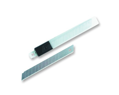 Запасные лезвия для канцелярских ножей Attache 9 мм 10 штук в упаковке - (19757К)
