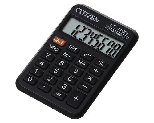 Калькулятор карманный Citizen LC-110N/NCFS 8-разрядный - (186963К)