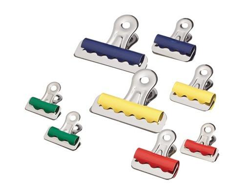 Зажимы для бумаг Attache бульдог 25/32/57 мм цветные 10 штук в упаковке - (509197К)