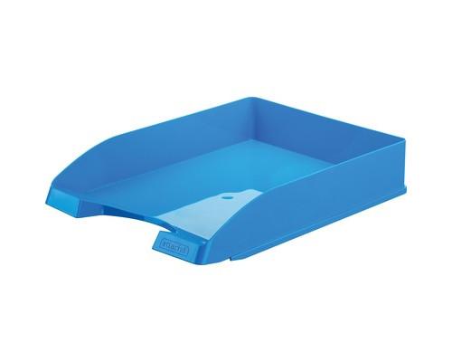 Лоток для бумаг горизонтальный Attache Fantasy голубой - (490036К)