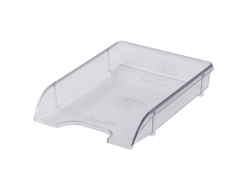 Лоток для бумаг горизонтальный Attache Триколор прозрачный - (683962К)