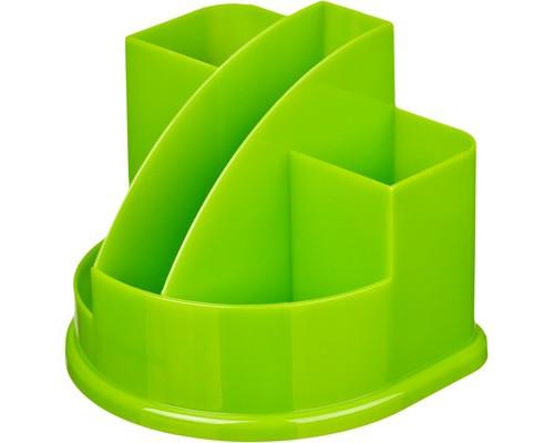 Подставка для канцелярских мелочей Attache Fantasy зеленая 5 отделений - (490041К)