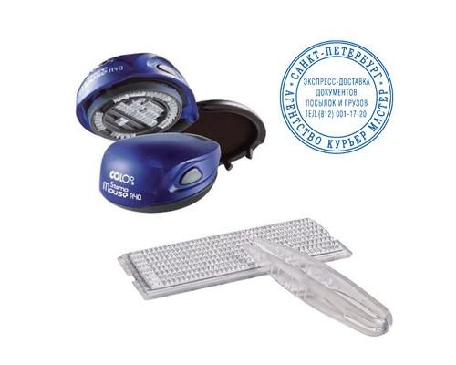 Печать круглая Colop Stamp Mouse R40 1 круг самонаборная карманная - (218991К)