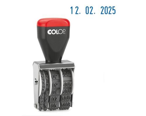 Датер ручной Colop 04000 Bank месяц обозначается цифрами шрифт 4 мм - (218996К)