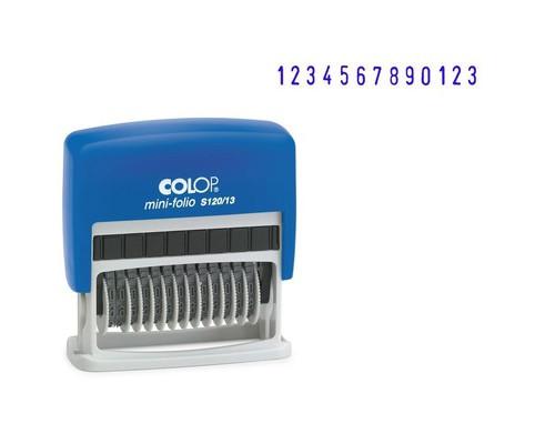 Нумератор автоматический Colop S120 13-и разрядный шрифт 3.8 мм - (218979К)