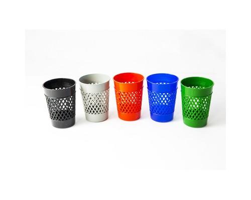 Подставка стакан для ручек Attache Эконом в ассортименте 5 штук в упаковке - (624289К)