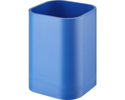 Подставка-стакан для канцелярских мелочей Attache голубая - (265721К)