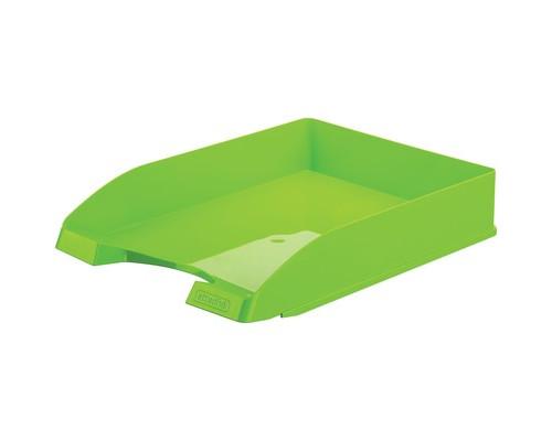 Лоток для бумаг горизонтальный Attache Fantasy зеленый - (490035К)