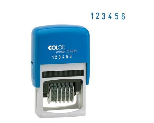 Нумератор 6-и разрядный Colop S226 шрифт 4 мм - (218999К)