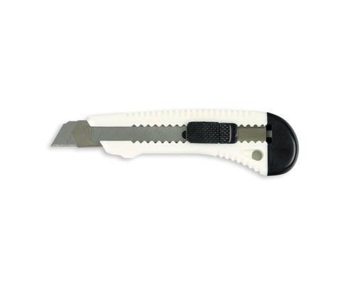 Нож канцелярский Bantex 18 мм с фиксатором в ассортименте - (47053К)