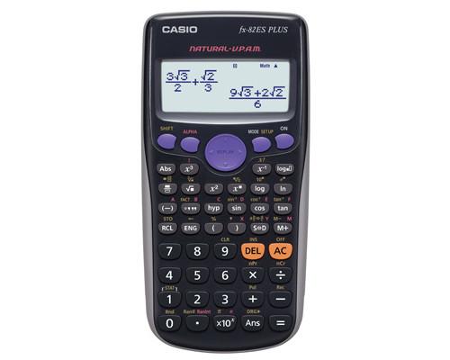 Калькулятор Casio FX82ES Plus 10+2-разрядный 252 функции - (199119К)