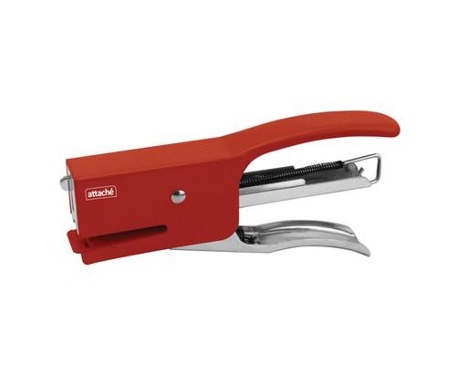 Степлер-плаер Attache для работы на весу до 20 листов красный - (329643К)