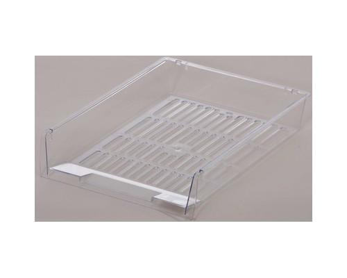 Лоток для бумаг Attache решетчатый прозрачный - (503692К)