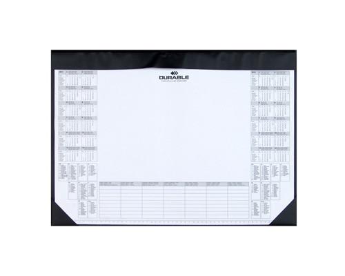 Коврик на стол Durable с календарем на 2 года со сменным блоком - (214807К)