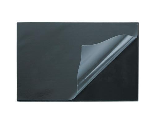 Коврик на стол Attache 38х59 см черный с прозрачным верхним листом - (553061К)