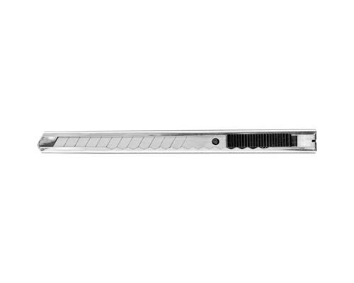 Нож канцелярский 9 мм металлический - (280460К)