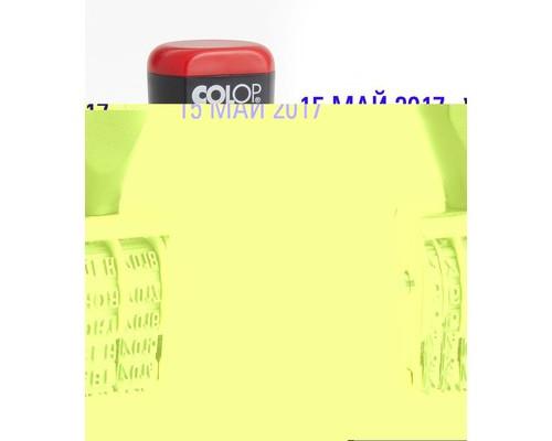 Датер ручной Colop 04000 месяц обозначается буквами шрифт 4 мм - (218994К)