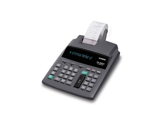 Калькулятор печатающий Casio FR 2650T 12-разрядный - (61837К)
