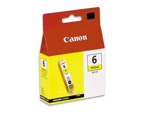 Картридж струйный Canon BCI-6Y 4708A002 желтый оригинальный - (32277К)