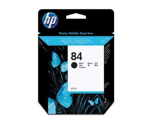 Картридж струйный HP 84 C5016A черный оригинальный - (58072К)