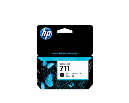 Картридж струйный HP 711 CZ129A черный оригинальный - (316325К)