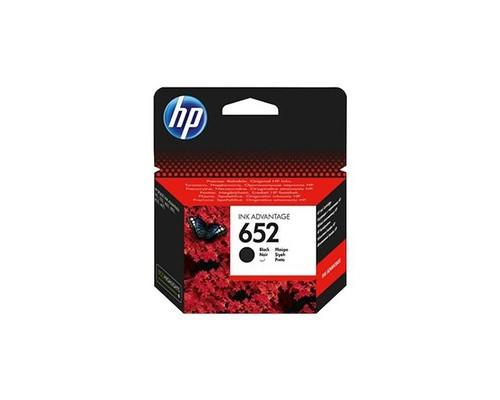 Картридж струйный HP 652 F6V25AE черный оригинальный - (508012К)
