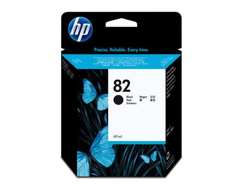 Картридж струйный HP 82 CH565A черный оригинальный - (147964К)