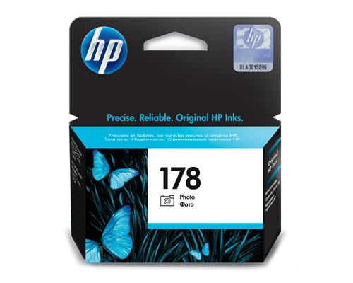 Картридж струйный HP 178 CB317HE фото черный оригинальный - (151713К)