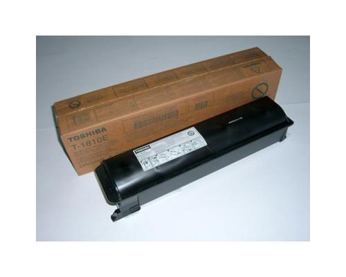 Тонер Toshiba T-1810E-5K черный оригинальный - (170816К)