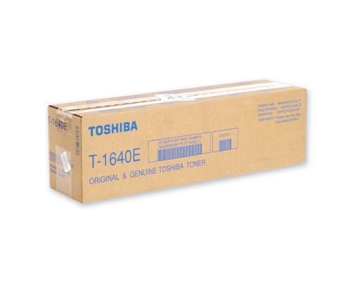 Тонер Toshiba T-1640E черный оригинальный - (91807К)